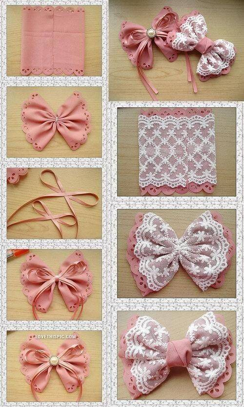 Como fazer la o de natal passo a passo v deo exclusivo for Pinterest do it yourself crafts