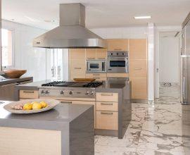 Os pisos para cozinha chamam a atenção no ambiente