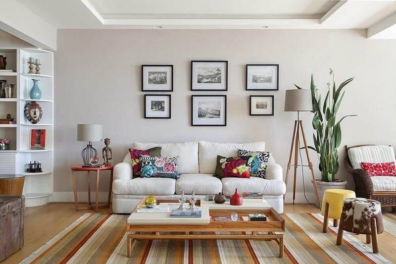 50 modelos de lumin rias para sala para te inspirar for Decoracion barata pisos pequenos