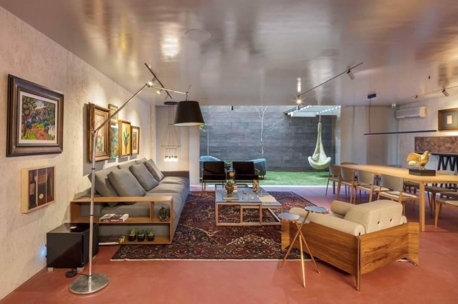 ambientes com luminárias para sala de diversos estilos