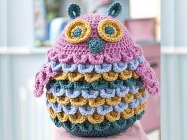 amigurumi coruja de croche Toy-Owl-Crochet