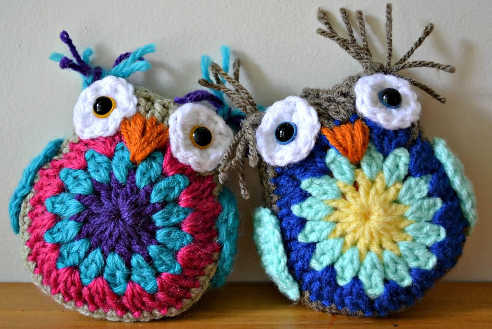 amigurumi coruja de croche crochet owl