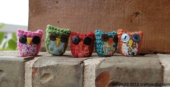 amigurumi sortidos coruja de croche