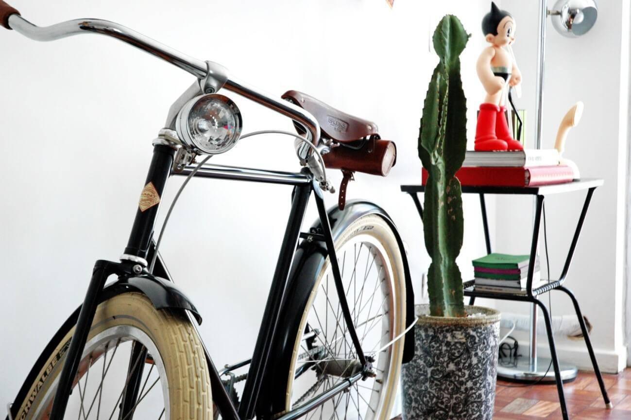 bicicleta na sala