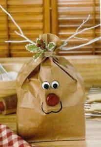 enfeite de natal saco rena