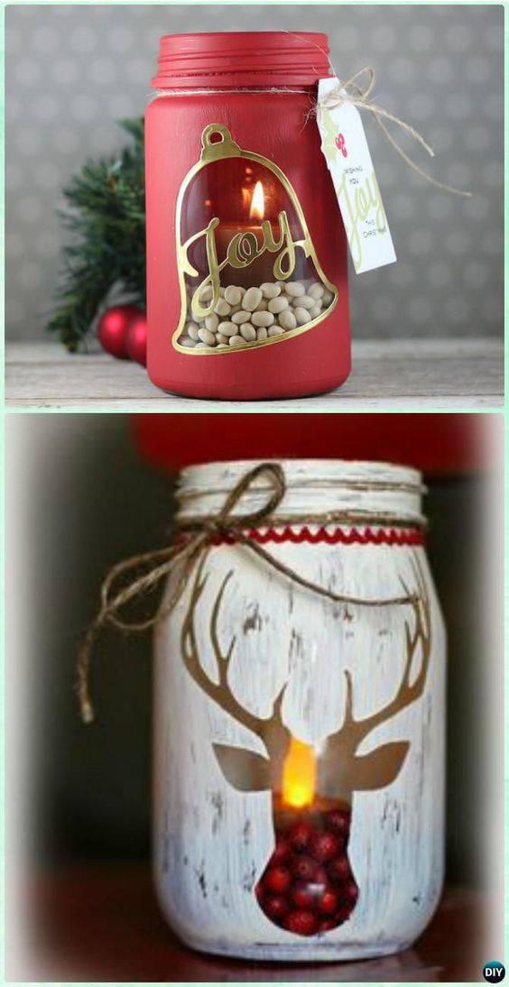 lembrancinha de natal com vela decorativa vermelha