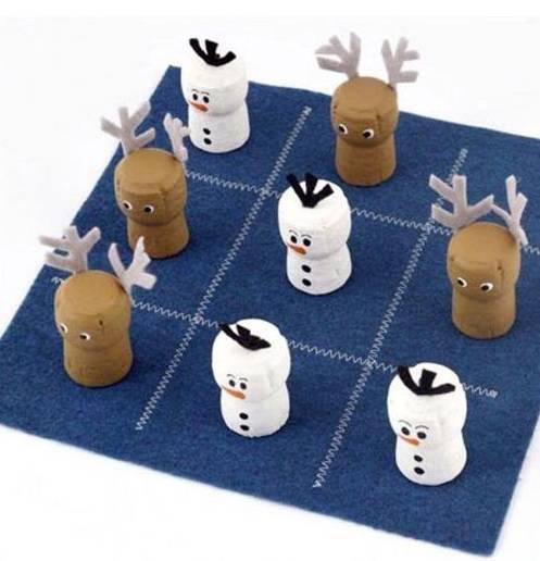 lembrancinha de natal jogo da velha