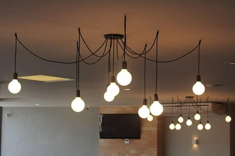 luminárias para sala pendentes projeto de michele daltoe