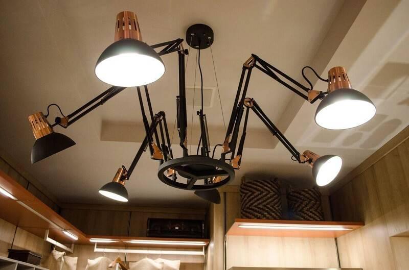 luminarias para sala articuladas