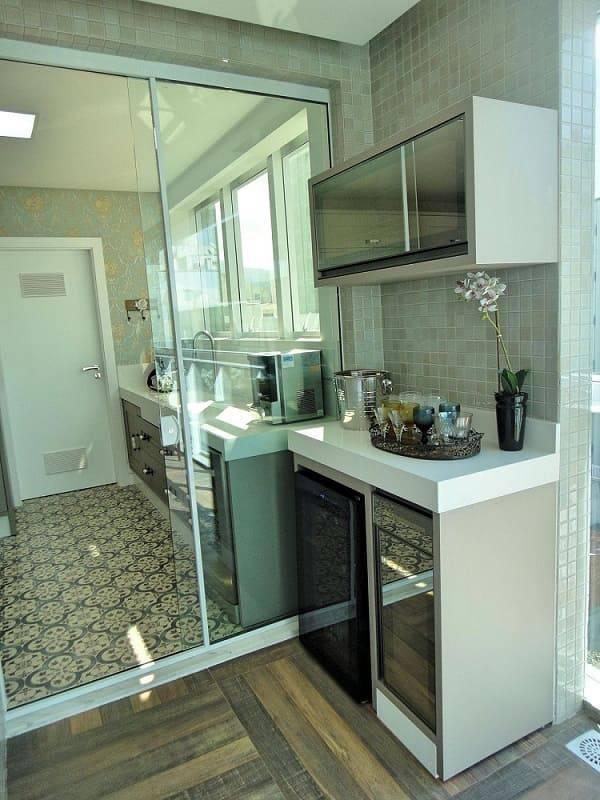 porta de vidro de correr cozinha espaco gourmet gabriela herde 92626