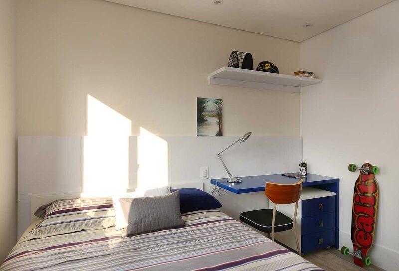 quarto de solteiro masculino