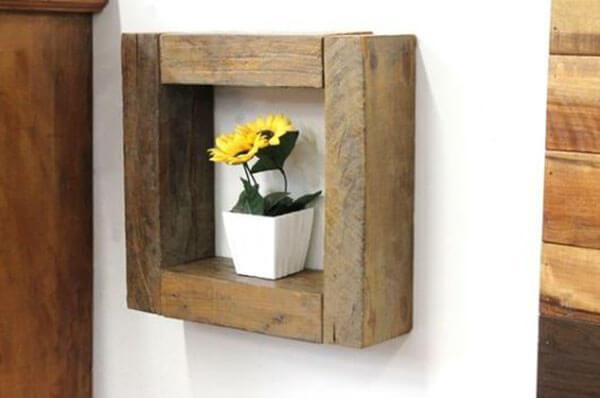 Artesanato em madeira nicho