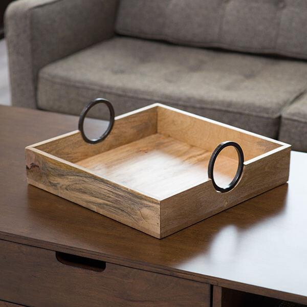 Artesanato em madeira para mesa