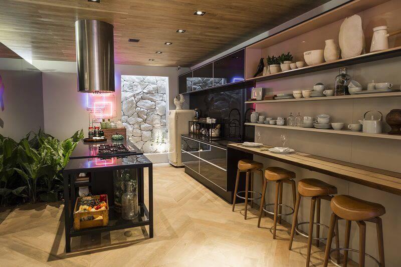 CASA DA MATA - OLEGÁRIO DE SÁ E GIL CIONI cozinha spots de led