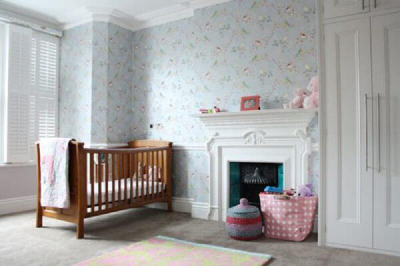 Decoração de quarto de bebê grande