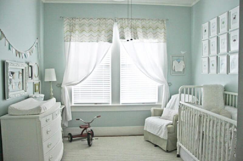 Decoração de quarto de bebê neutro