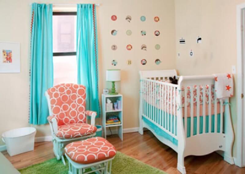 Decoração de quarto de bebê pequeno