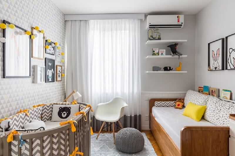 Decoração de quarto de bebe para apartamentos pequenos