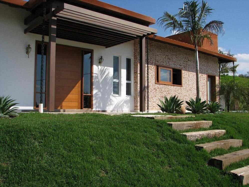Economizar na Decoração fachadas de casas juliana mancini 61565