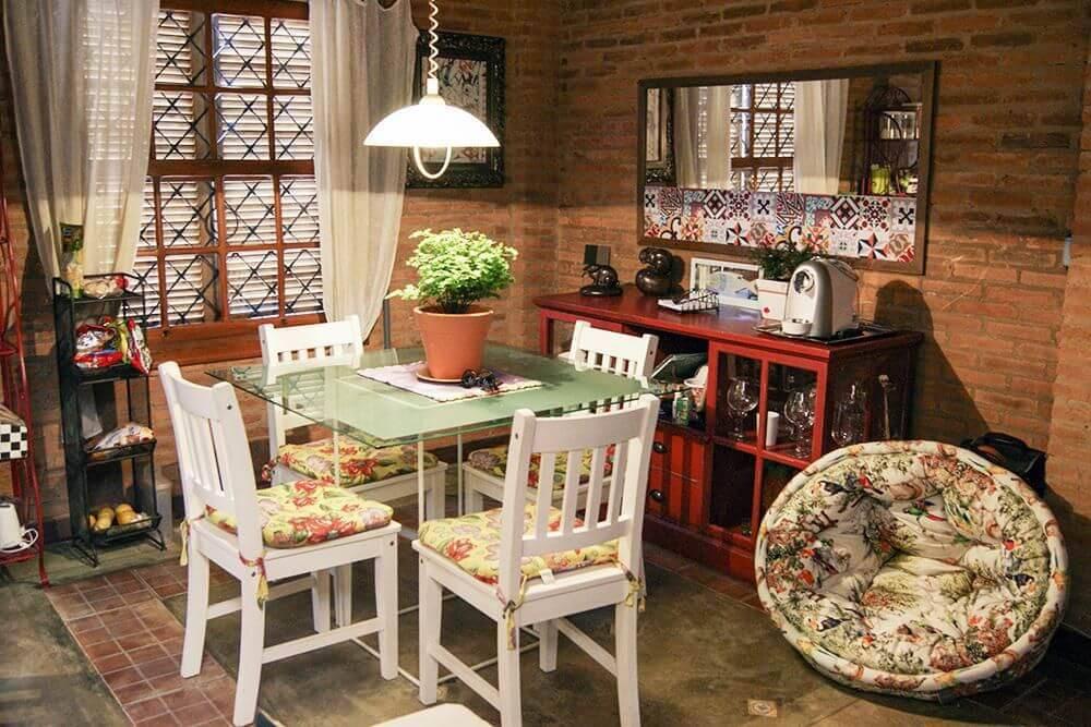 Economizar na Decoração sala de jantar casa aberta 18534