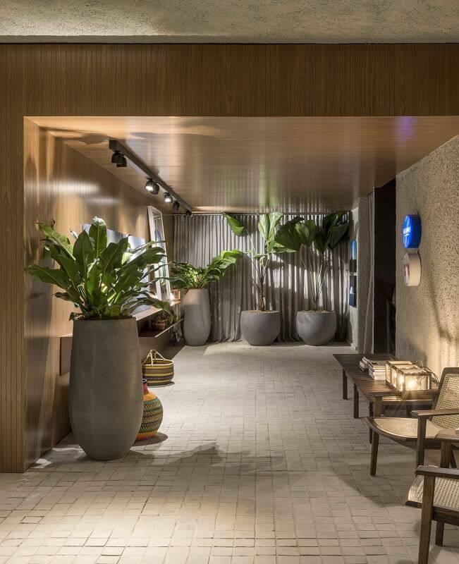 Larissa Dias – Lounge Brasília hall spots de led