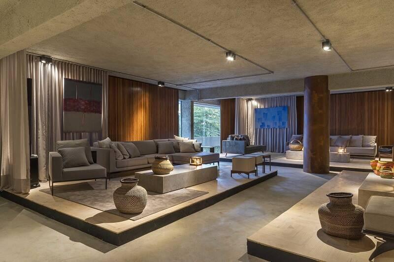Larissa Dias – Lounge Brasília sala spots de led