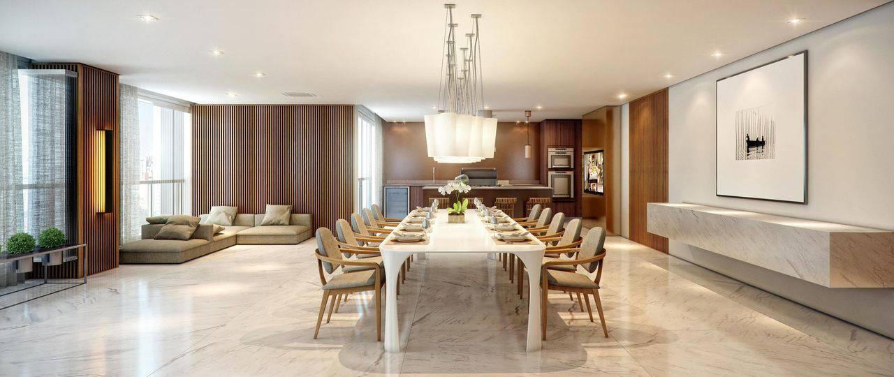 Sala de jantar grande Projeto de Ornare