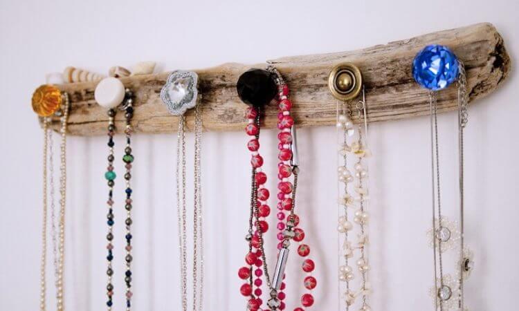artesanato em madeira porta-jóias de madeira