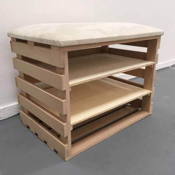 artesanato em madeira sapateira