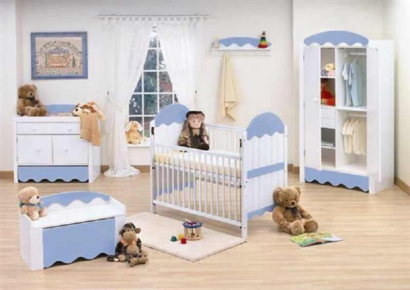 decoração de quarto de bebê para menina