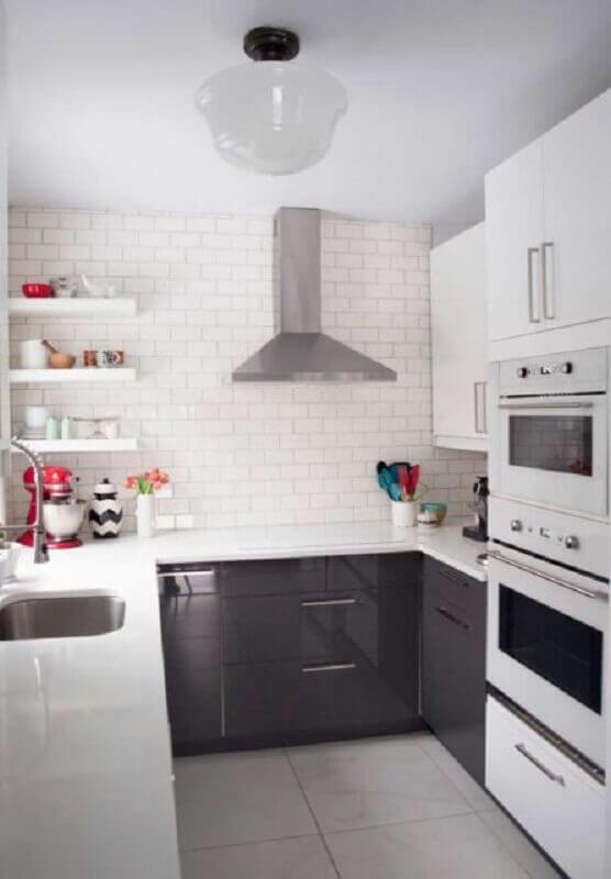 modelo de prateleira para cozinha pequena Foto Pinterest