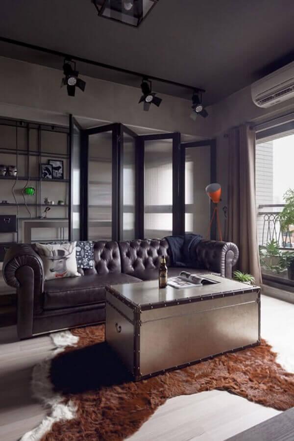 modelo diferente de tapete para sala de estar Foto Construye Hogar