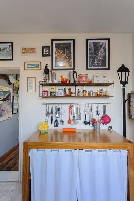 prateleira para cozinha pop projeto de Matteo Gavazzi