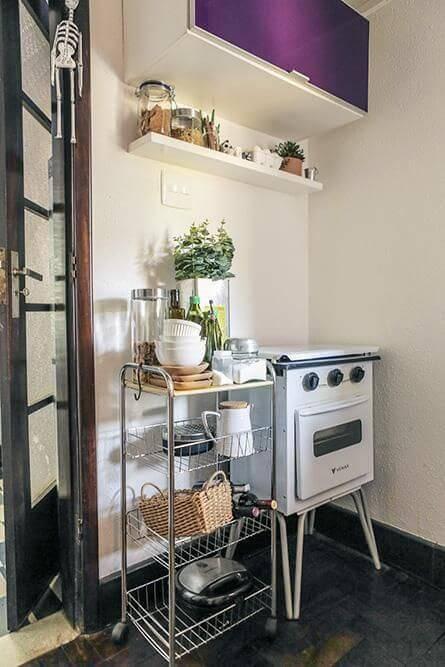 prateleira para cozinha vintage projeto casa aberta
