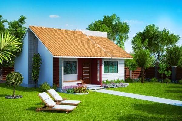 Casas pequenas com varanda