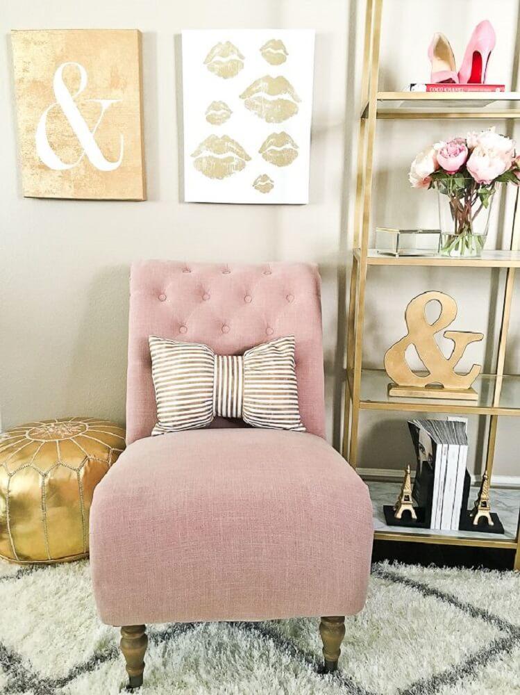 Decoração com poltronas para sala de estar