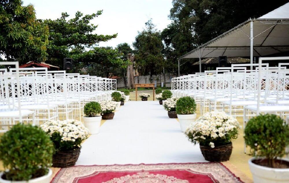 ebbafec1d0725f Decoração de Casamento Simples: + 38 Dicas e Modelos para se Inspirar