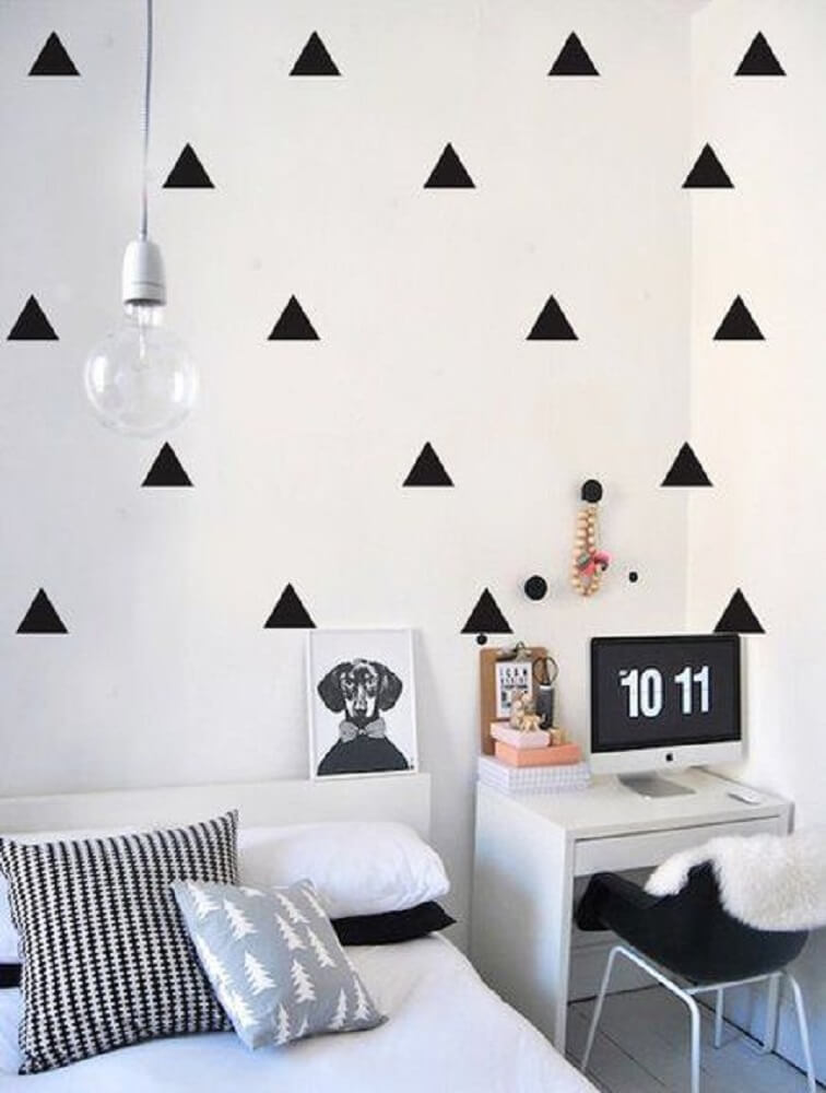 Quartos tumblr 40 maneiras de como decorar o seu quarto - Decorar paredes facil ...