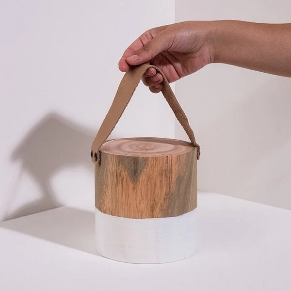 Peso de porta para todos os estilos e gostos. Fonte: The Cube Gallery