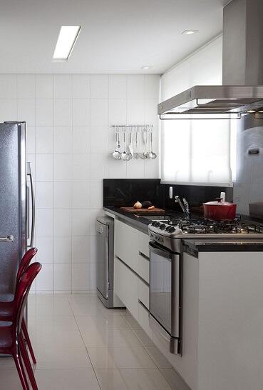 Pia de cozinha simples Projeto de Marcelo Rosset