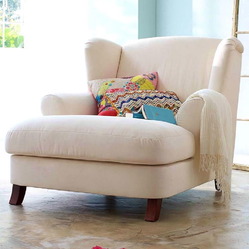 Poltronas Para Sala Conforto E Estilo Para Sua Sala -> Poltronas Na Sala De Estar Pequena