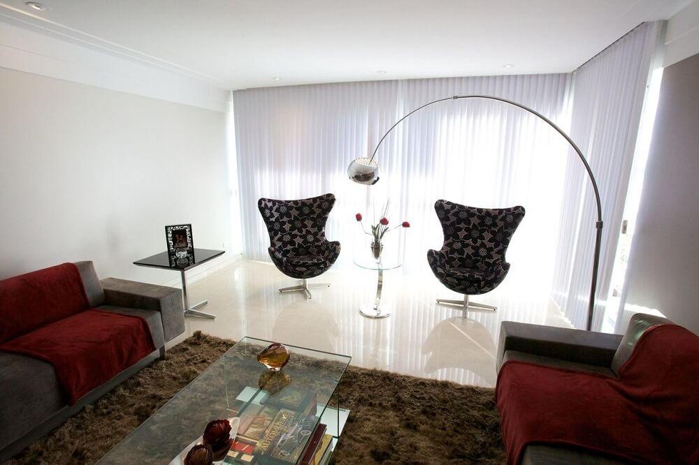 Poltronas decorativas para sala