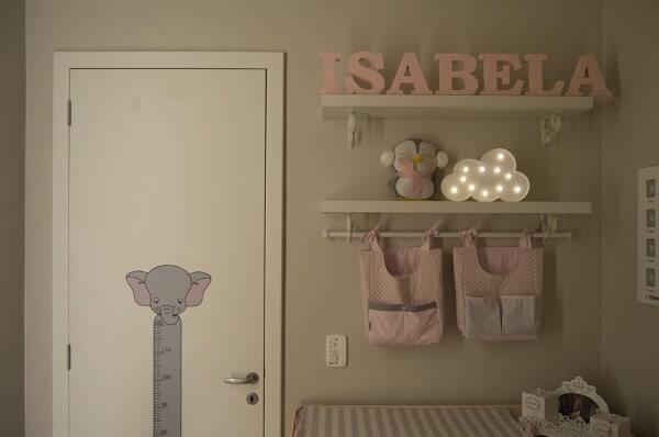 Prateleiras para quarto de criança