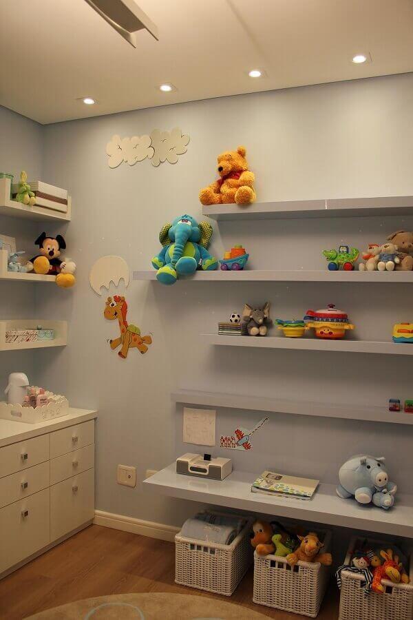 Prateleiras para quarto infantil