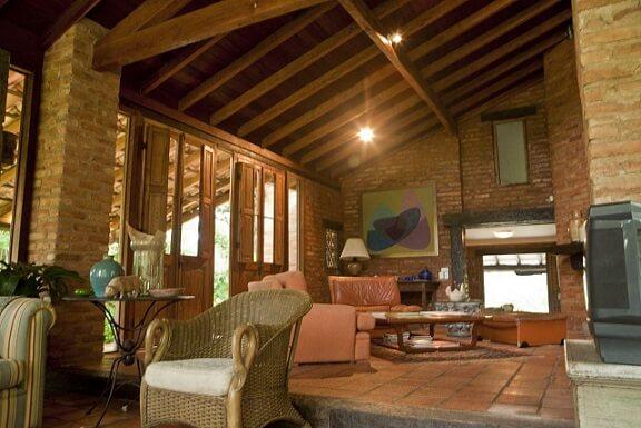 Projetos de casas de campo aconchegante Projeto de Rafael Guimarães