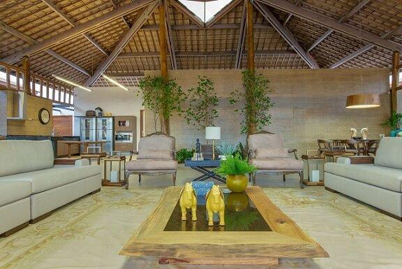 Projetos de casas de campo com decoração aconchegante Projeto de Sandra Moura