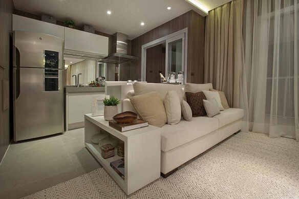 Projetos de casas pequenas com ambientes integrados Projeto de Carlos Rossi