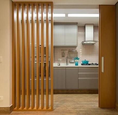 Projetos de casas pequenas com ambientes semiintegrados Projeto de Madi Arquitetura