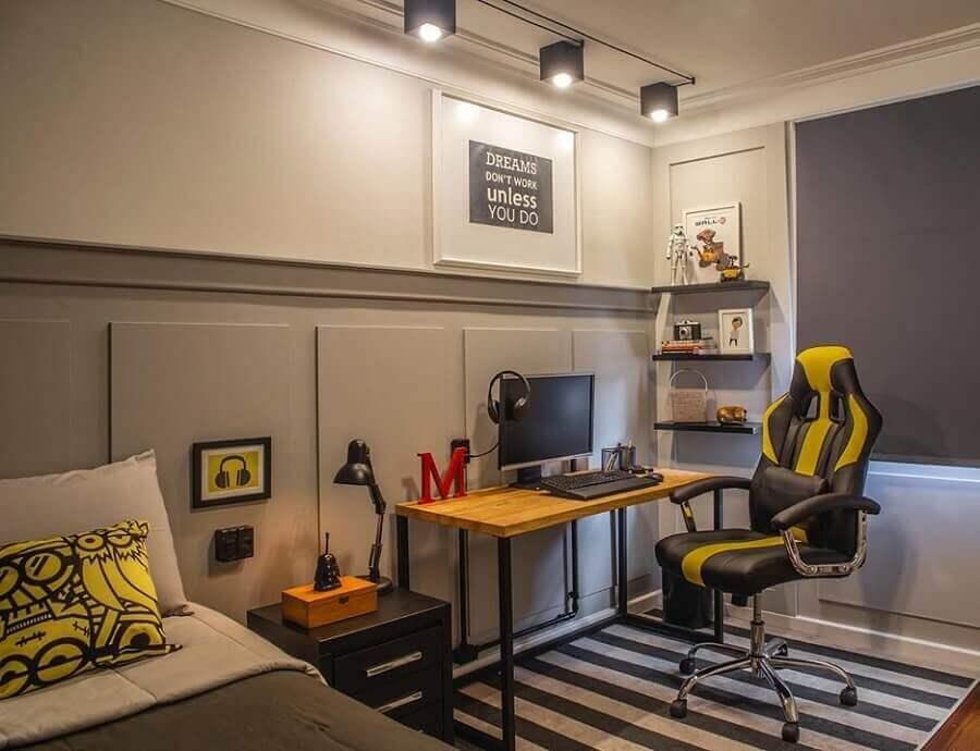 cadeira para quarto gamer Foto Archello
