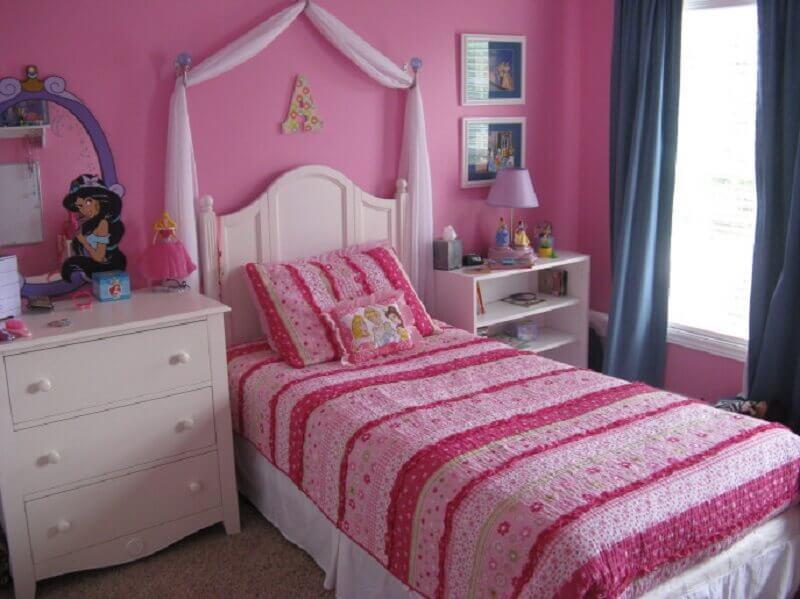 decoração quarto de princesa simples